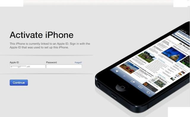 Kết quả hình ảnh cho iphone chưa active trôi bảo hành là gì