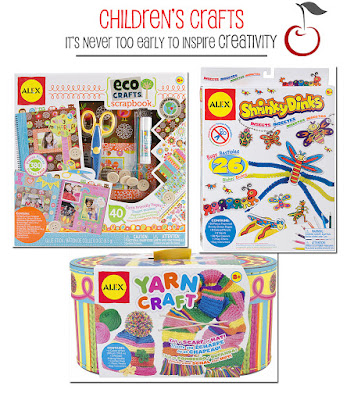 children craft kits at a cherry on top