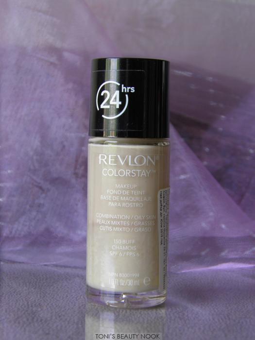 revlon colorstay buff oily skin