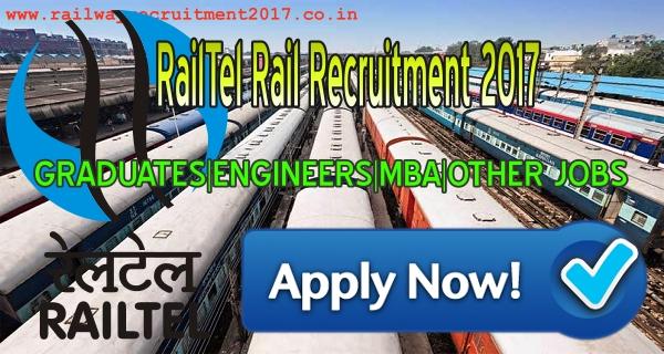 railtel vacancy