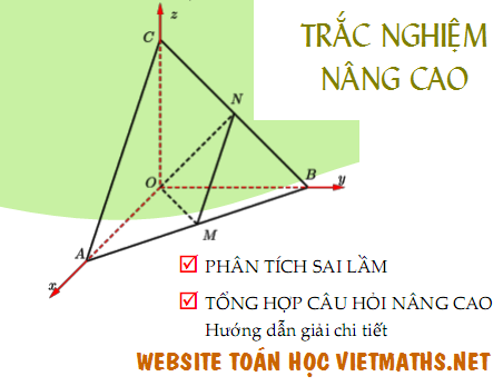 Nhung cau hoi trac nghiem nang cao ren luyen ky nang giai toan cua Doan van Bo Huynh Anh Kiet