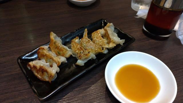 長崎市 ラーメン 麺屋富貴 島唐辛子餃子