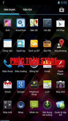 Rom gốc HK phone revo HD2 alt