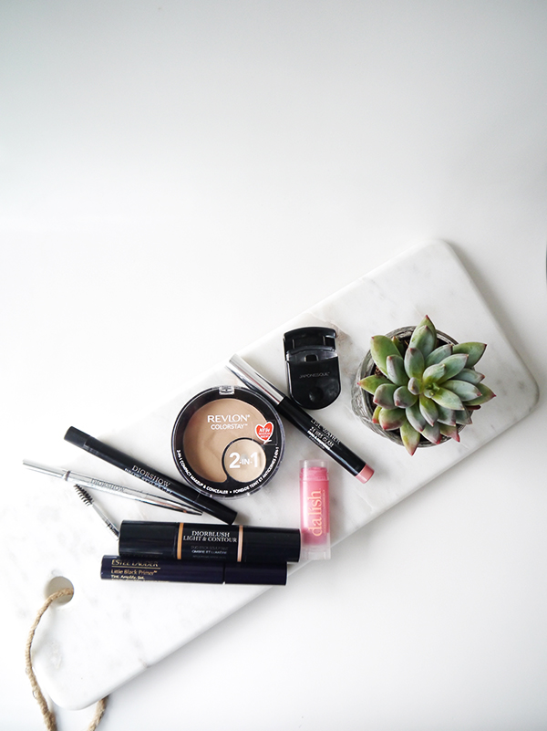 Minimalist makeup routine