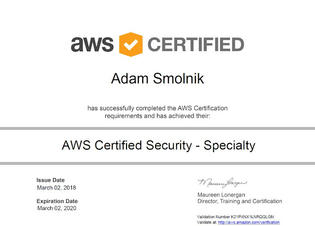 AWS Certified Security Speciality Practice Test