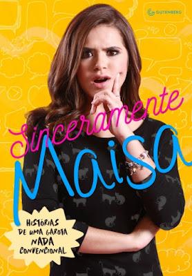 Quem é uma das estrelas mais famosas da televisão brasileira que encanta a todos desde os 3 anos de idade?  Neste livro ilustrado e muito bem-humorado, as duas Maisas, a criança e a adolescente, falam sobre a vida, as dificuldades, as amizades, a família, e todo o trajeto que a trouxe até aqui. Até agora…  Páginas: 144  • Formato: 16 x 23 cm  • Acabamento: Brochura  • ISBN: 9788582353998  • Código: 12365 • Área temática: Juvenil • Editora Gutenberg  • Edição: 1  • Data de publicação: 22/08/2016