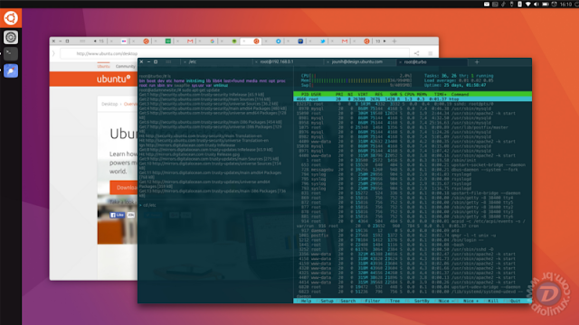 Ubuntu Unity 8