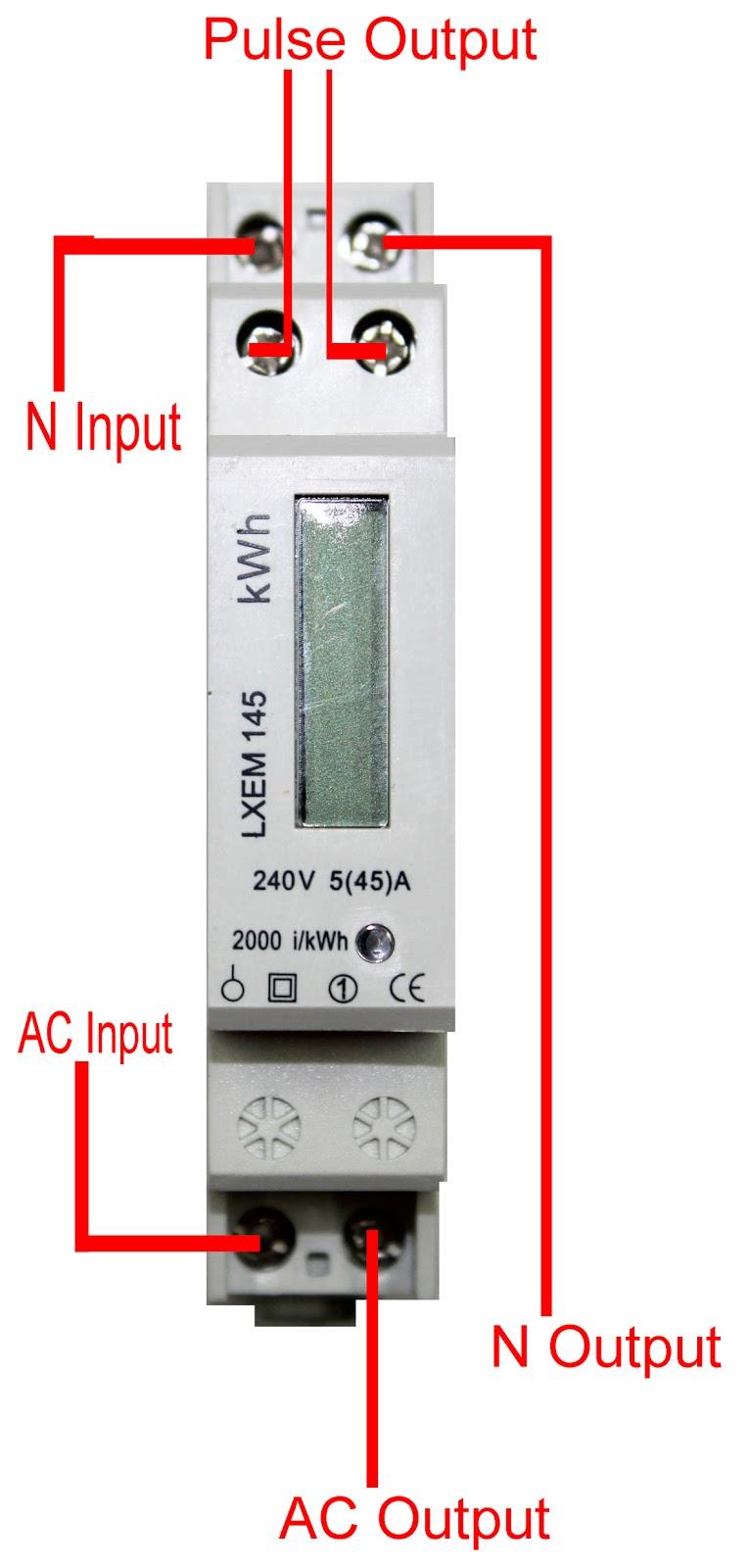 Kilowatt Hour Meter Wiring Diagram Ford 4r70w Transmission Single Phase 45a | Elec Eng World