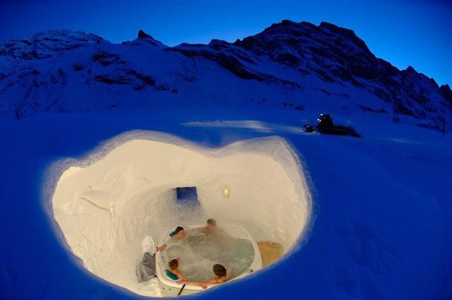 iglú suiza Zermatt
