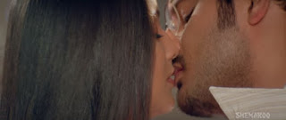 Meghna Naidu Himanshu Malik Hot Smooch In Movie Rain 1