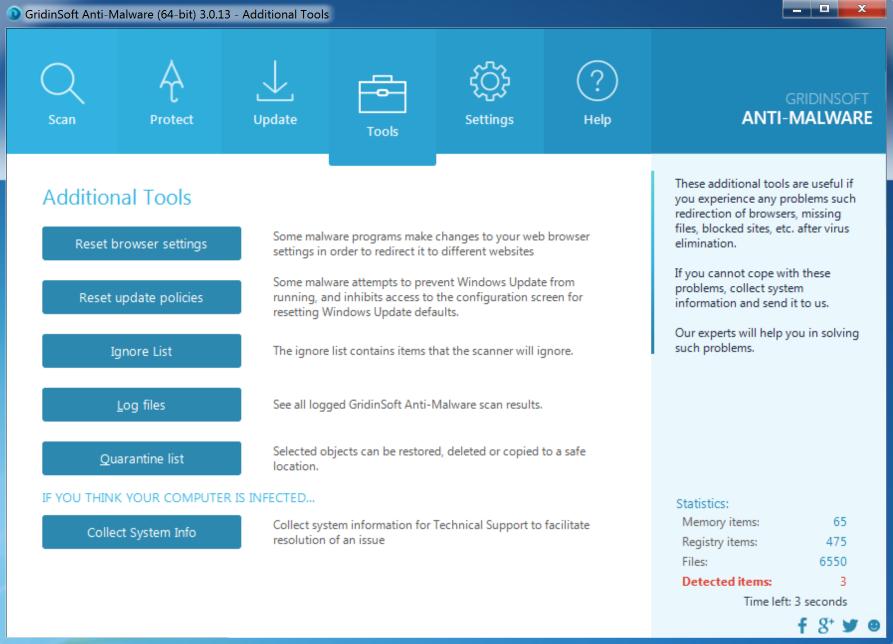 GridinSoft Anti-Malware 4.1.33.4812