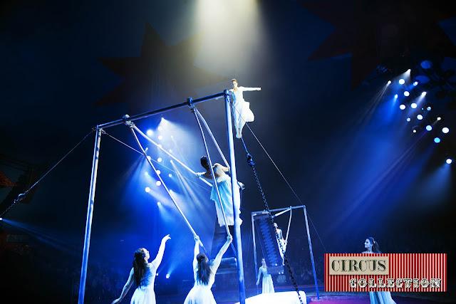 spectacle  double balançoire russe  Troupe Sokolov