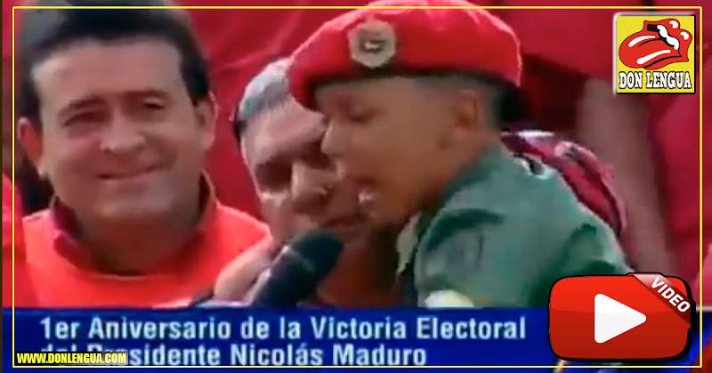 Régimen de Maduro sigue abusando de niños pequeños
