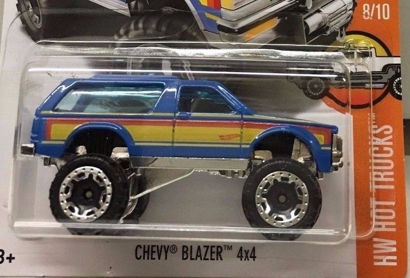 hot wheels chevy blazer 2017