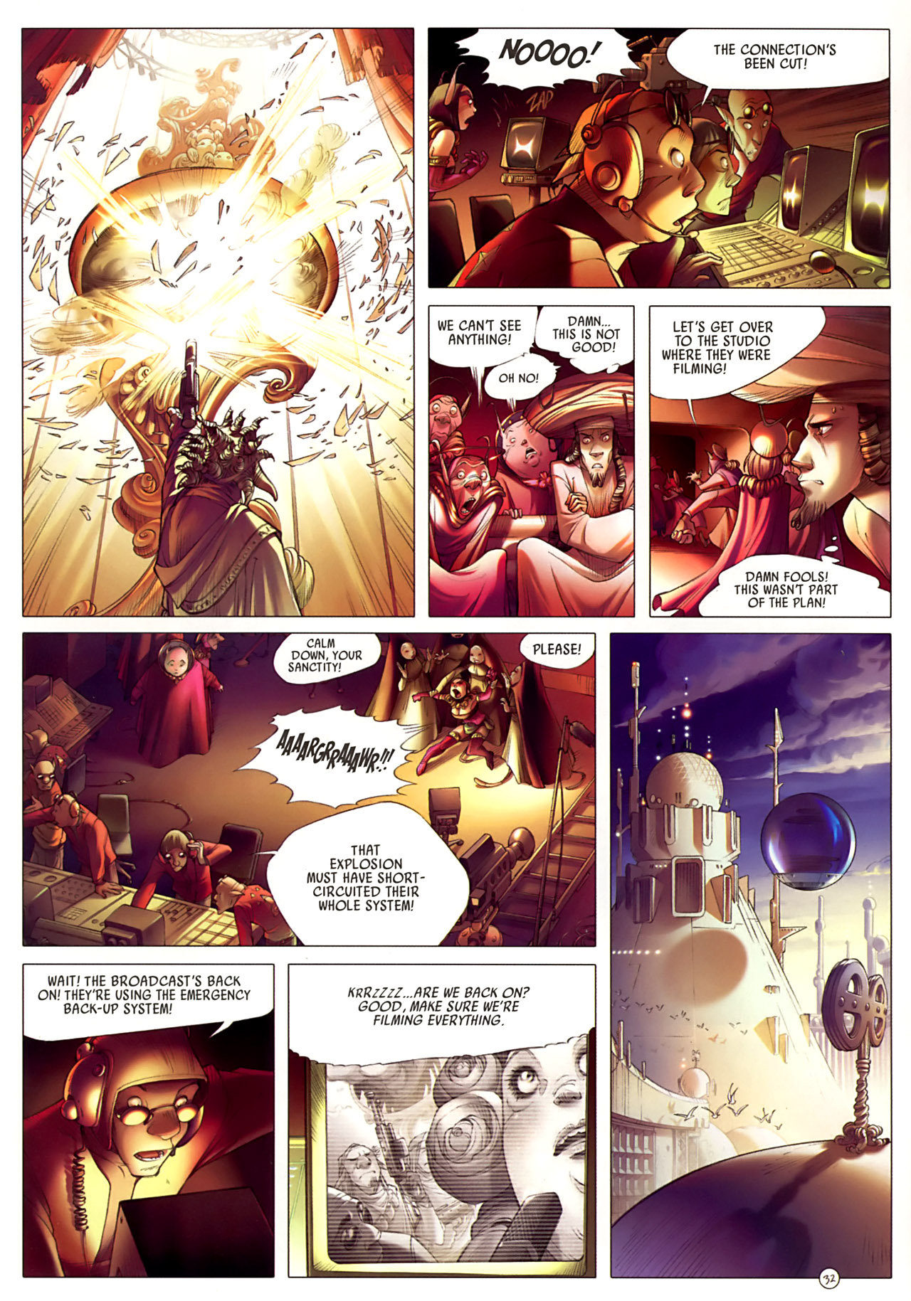 Read online Sky Doll comic -  Issue #3 - 36