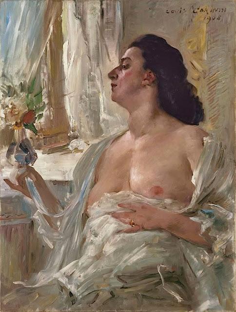 Lovis Corinth: Donna alla finestra