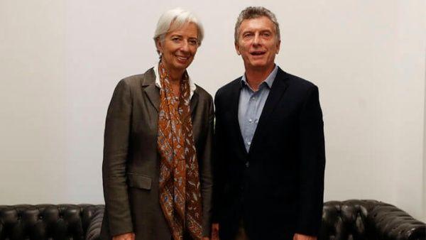 FMI avala agenda económica de Mauricio Macri