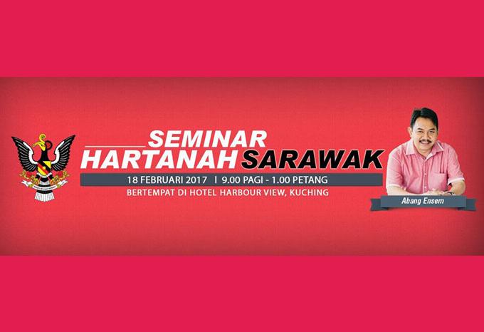 Seminar Hartanah Sarawak Abang Ensem 2017