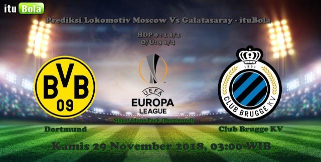 Prediksi Dortmund Vs Club Brugge KV - ituBola