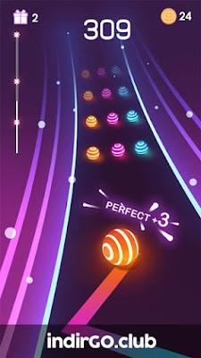 Dancing Road Colour Ball Run mod APK