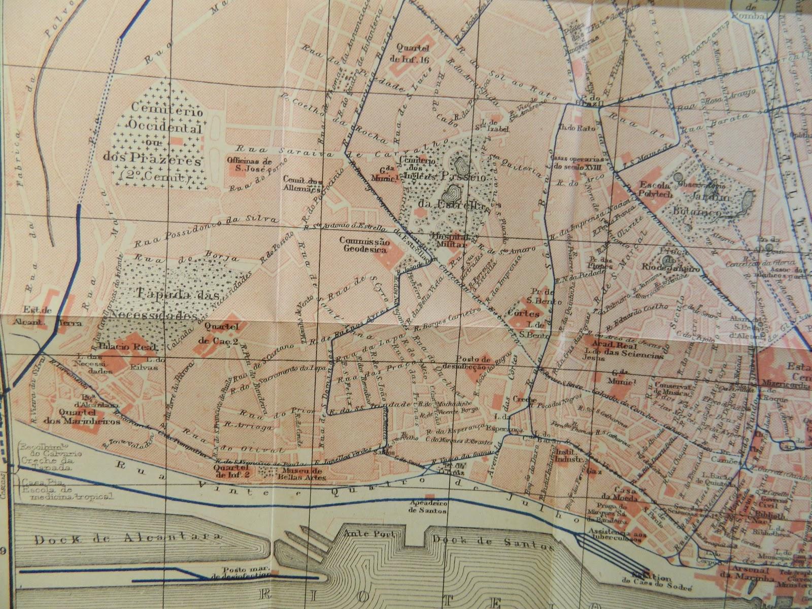 mapa de lisboa antiga Ilustração Antiga: Um livro sobre Portugal, em 1911 mapa de lisboa antiga