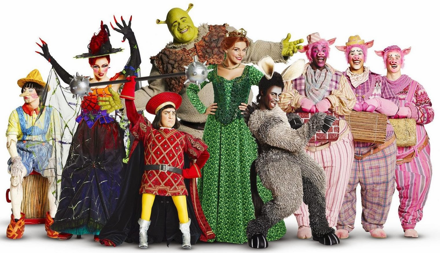 shrek 2 meet the cast