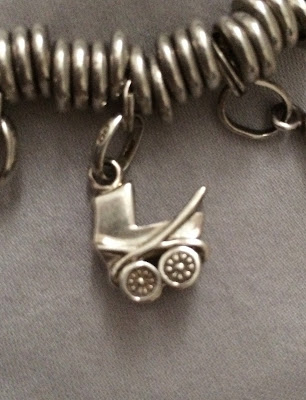 Links of London baby carriage charm