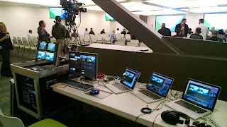 Webcasting video production equipment