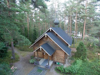 Lohjan Metsolan tsasounan porrastettu katto ilmakuva - valokuvaus Dimi Doukas, Vihti