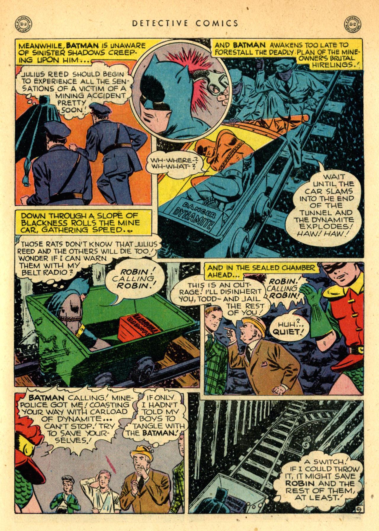 Read online Detective Comics (1937) comic -  Issue #111 - 11