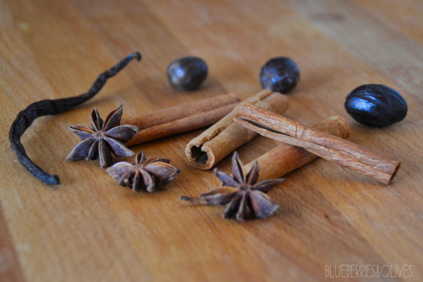 Ingredientes Chocolate caliente especiado 3