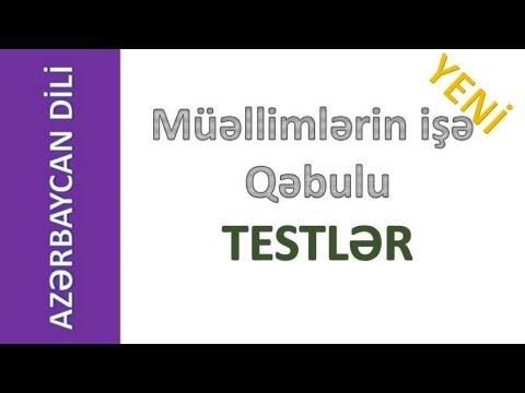 Azərbaycan Dili Muəllimləri Ucun Miq Testləri Sinaq Təhsil Kompasi