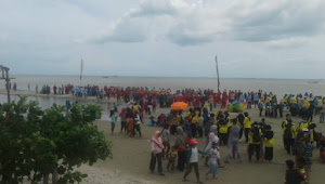 Pantai Mutiara Baru Karya Makmur Labuhan Maringgai Cikal Bakal Destinasi Wisata Pantai Baru