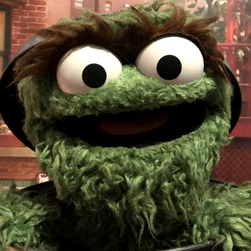 Oscar the Grouch | Caroll Spinney | Center for Puppetry Arts | Photo: Travis Swann Taylor
