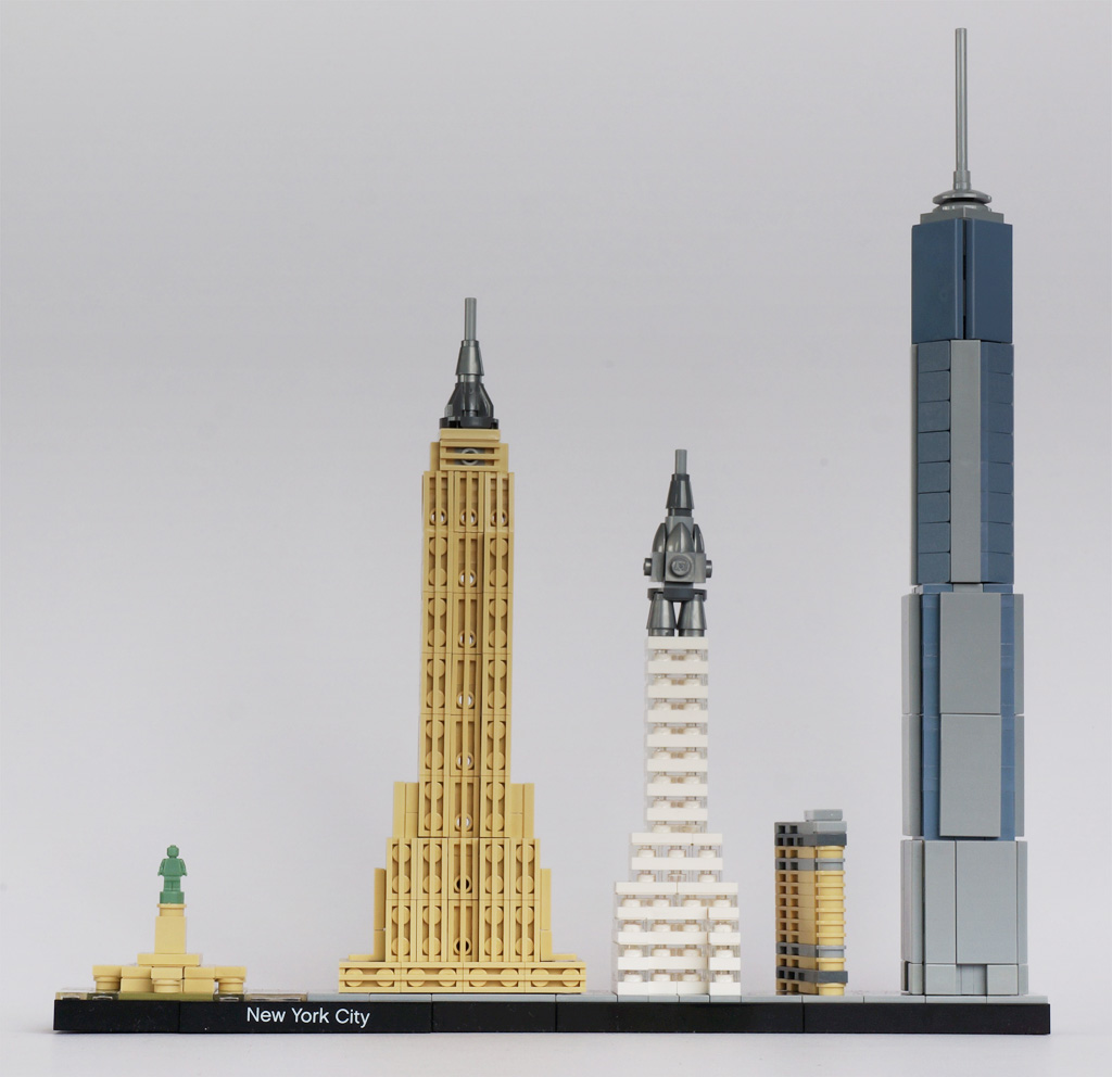 Empire State Building: New Elementary, A LEGO® Blog Of Parts