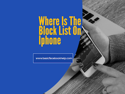 Where Is The Block List On Iphone