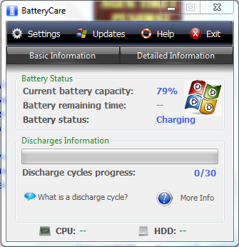 Download Battery Care 0.9.21 Terbaru
