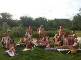 2016 Naked State Artists at Bare Oaks Family Naturist Park