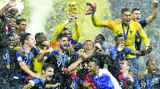 France Wins 2018 FIFA World Cup Football Title