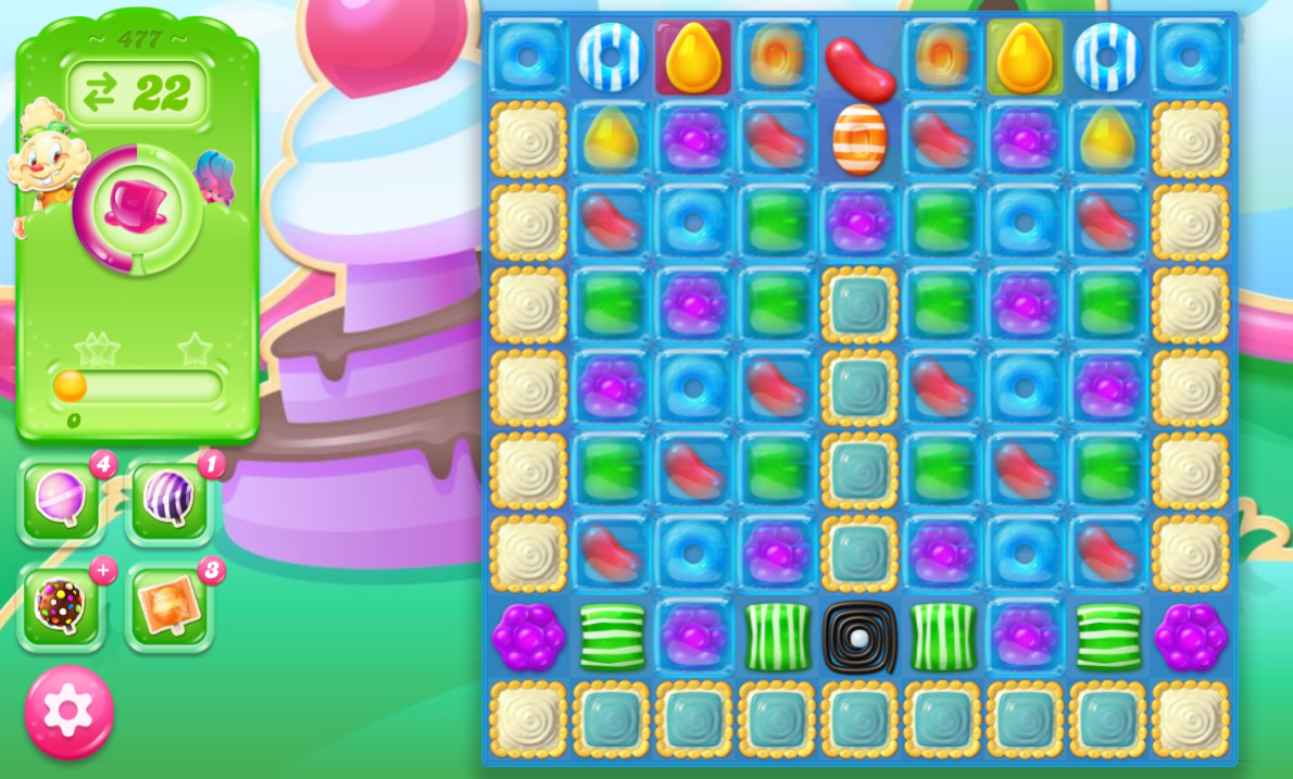 Candy Crush Jelly Saga 477