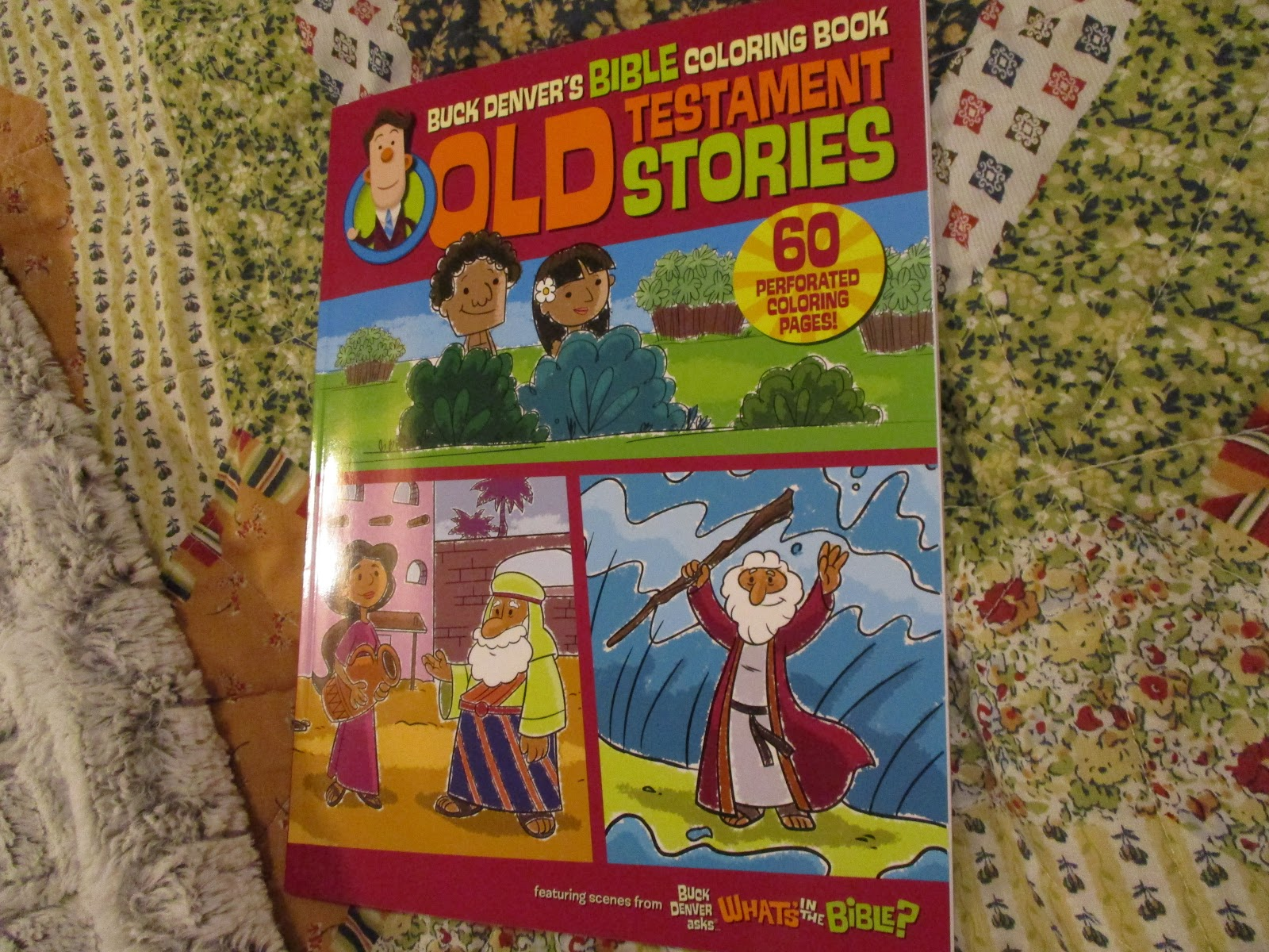Missys Product Reviews Buck Denver S Bible Coloring Book Old