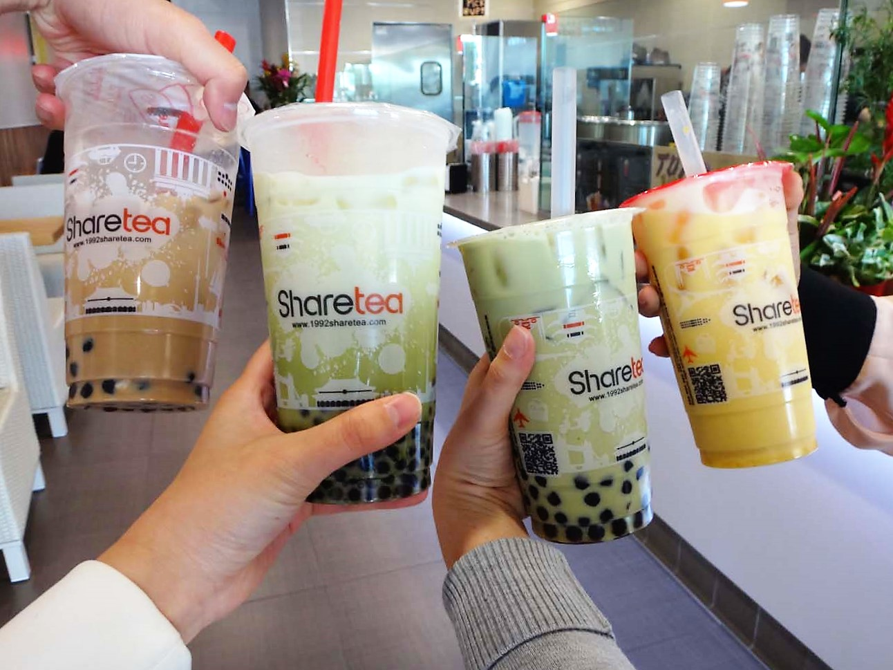POPULAR TAIWANESE BUBBLE TEA CHAIN SHARETEA IS IN FULLERTON!