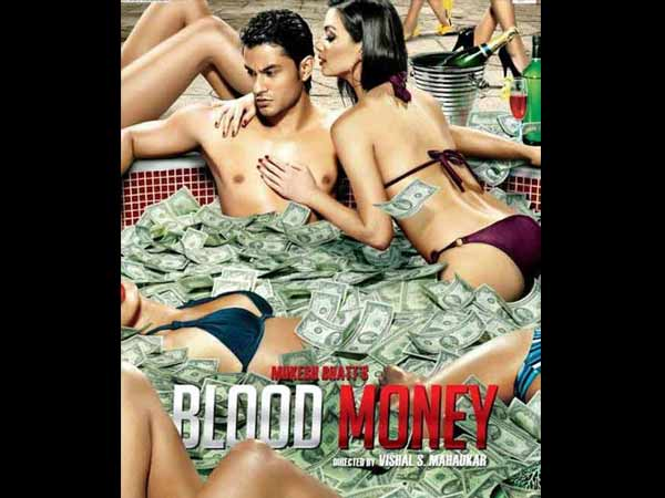 Kunal Khemu Blood Money movie poster