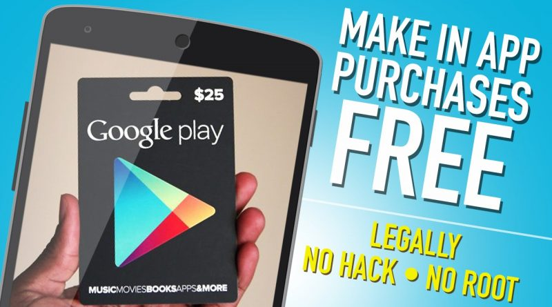 top 5 applications to hack the in app purchases on android