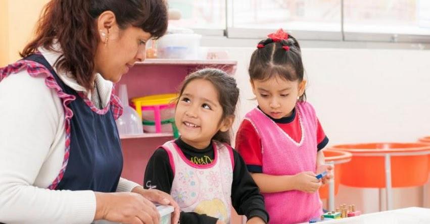 MINEDU: Docentes del nivel inicial demuestran que su desempeño es el adecuado para lograr los aprendizajes de sus estudiantes - www.minedu.gob.pe