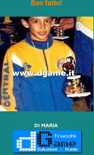 Soluzioni Guess the child footballer livello 19