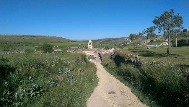 Meseta, Jola Stępień, Camino, Castilla, Hontanas