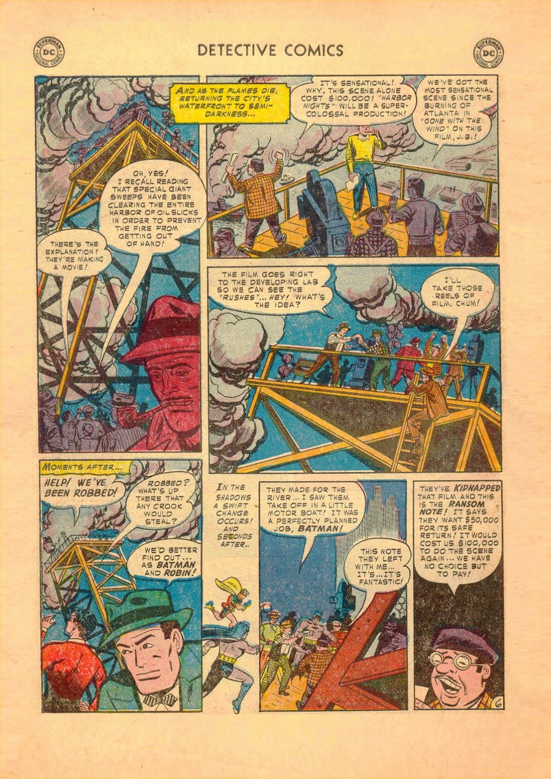 Read online Detective Comics (1937) comic -  Issue #182 - 7