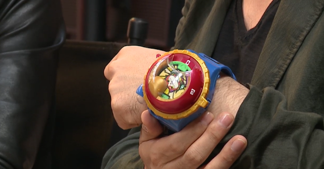 Real Life YO-KAI Watch arm wear