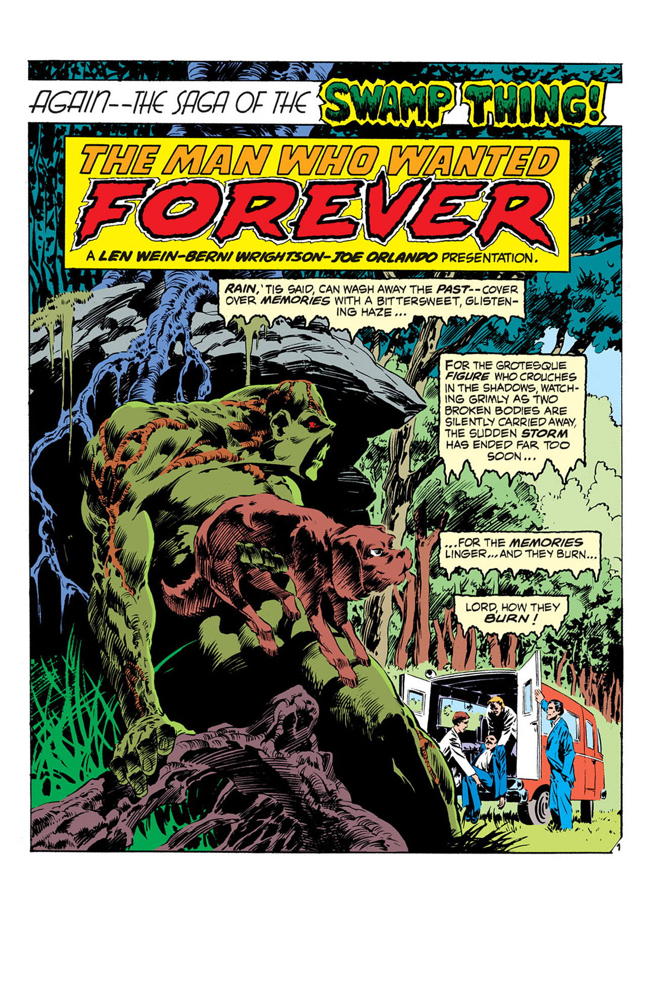 Swamp Thing (1972) Issue #2 #2 - English 2